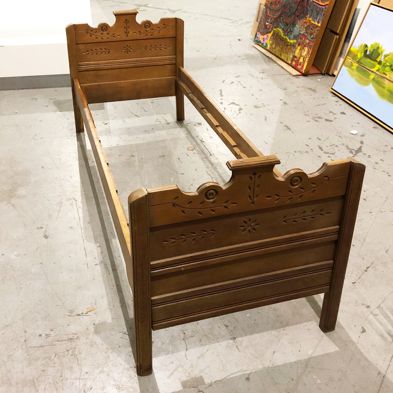 Child's Victorian Bed Frame