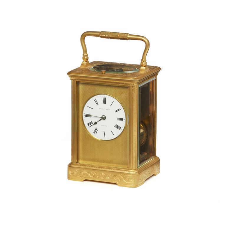 Richard and Cie, Paris Carriage Clock