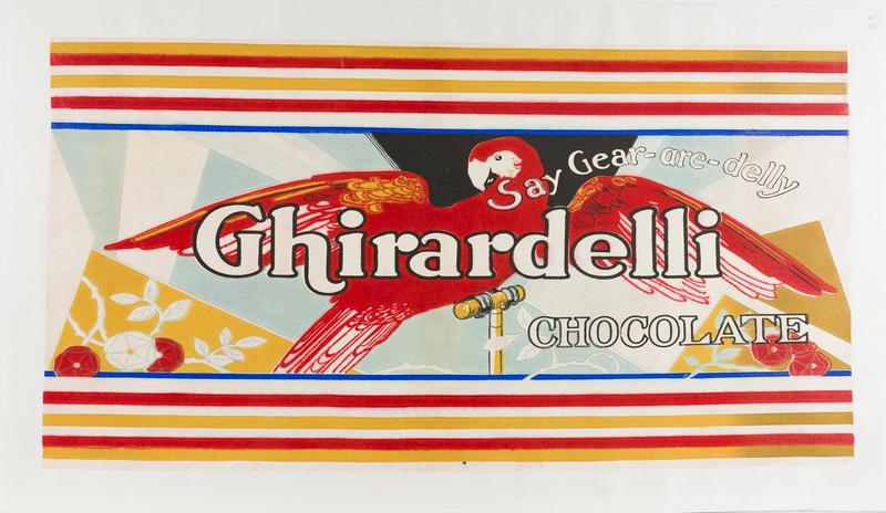Ghirardelli Chocolate Advertising Poster
