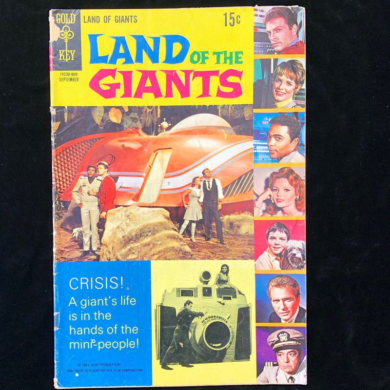 Gold Key Comic's, Silver Age, Land of the Giants, Sept. 1969