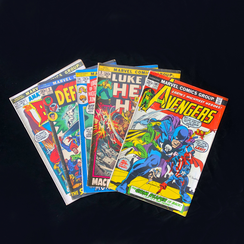 Marvel Comic Collection - The Avengers #107 and More!