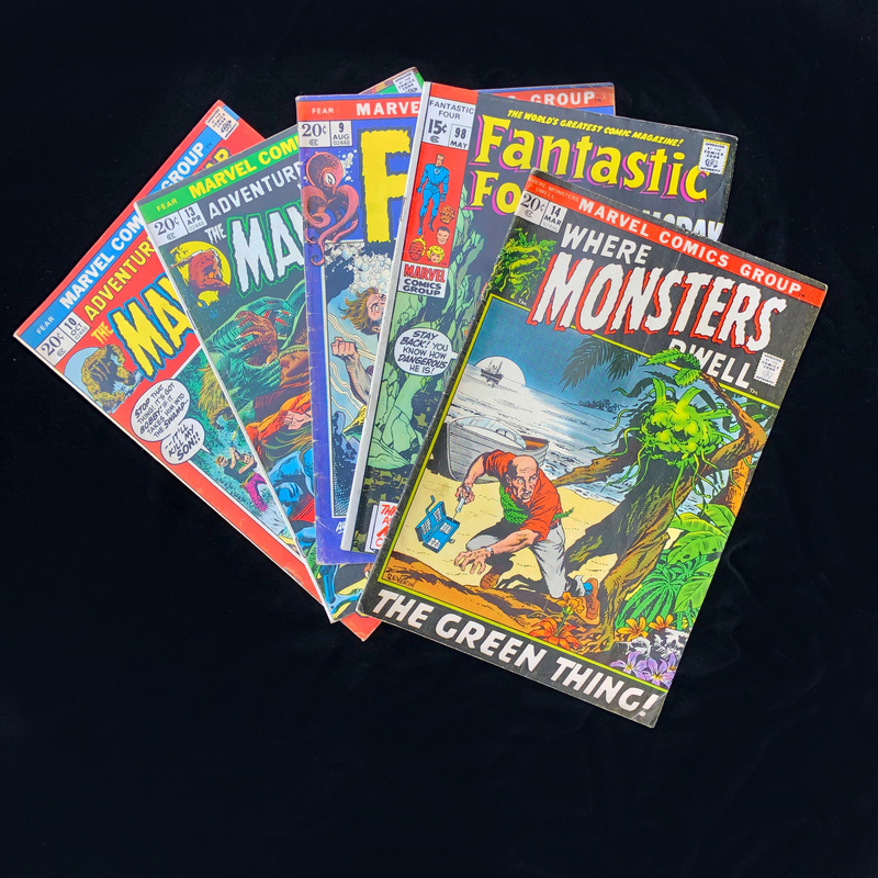 Silver Age, Marvel Comic Collection - Fantastic Four #98 and More!