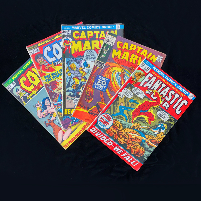 Silver Age, Marvel Comic Collection - Fantastic Four #128