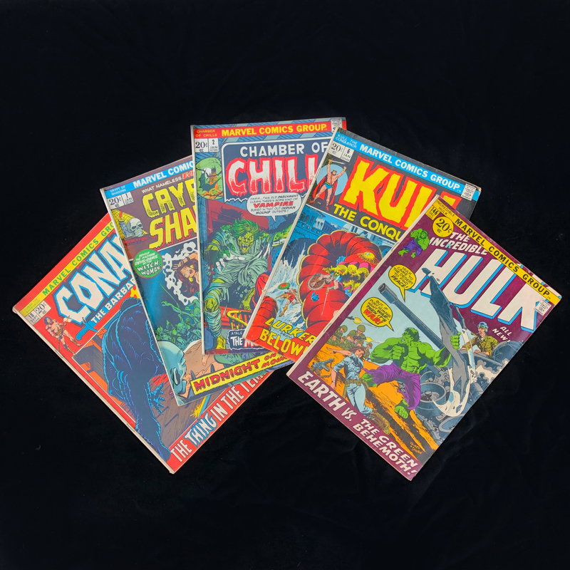 Silver Age, Marvel Comic Collection - The Hulk #146