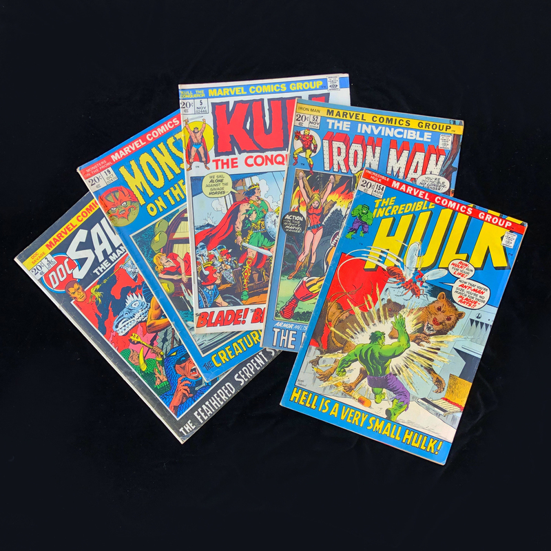 Silver Age, Marvel Comic Collection - The Incredible Hulk #154