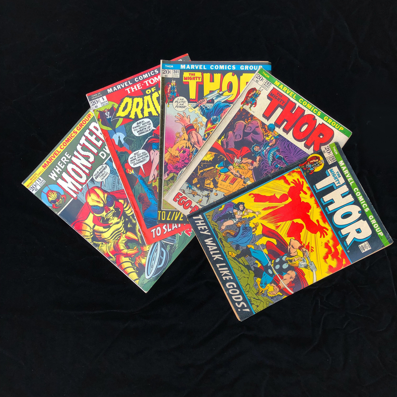 Silver Age, Marvel Comic Collection - Thor #203