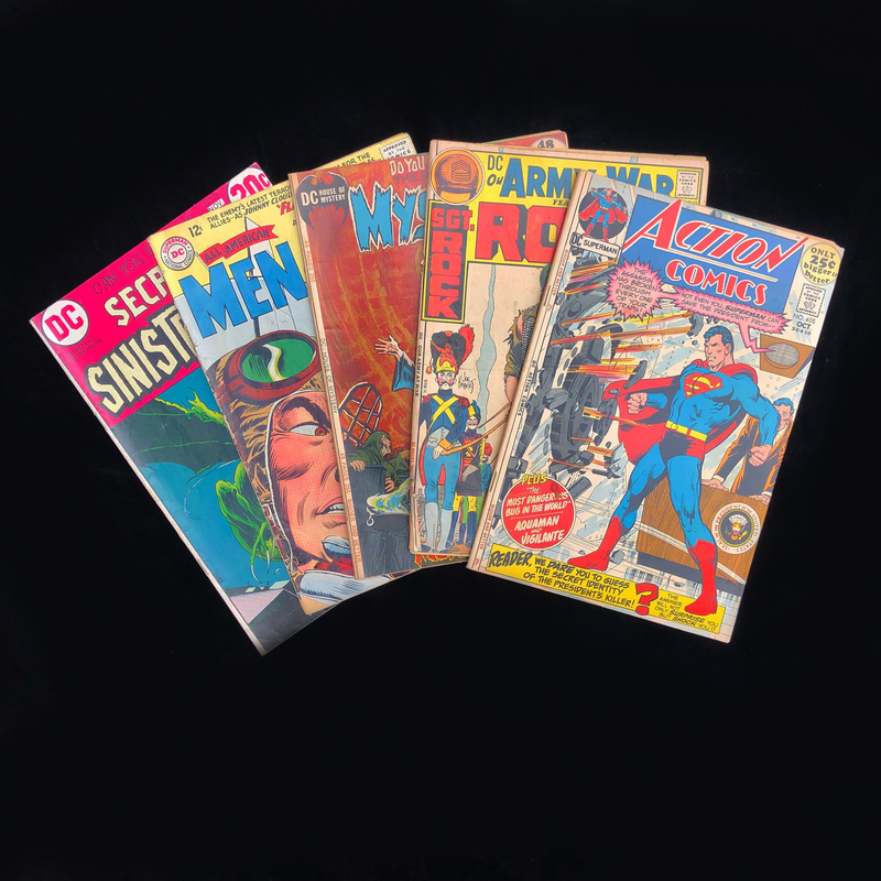Silver Age DC Comic Collection - Group of 5