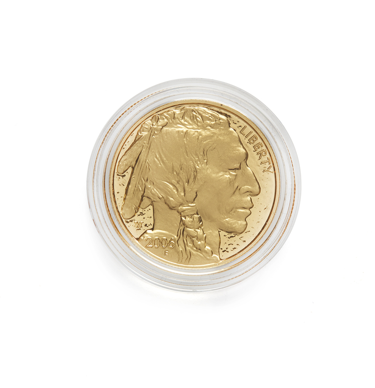 U.S. Mint 2006 One Oz. Proof Gold American Buffalo $50 Coin