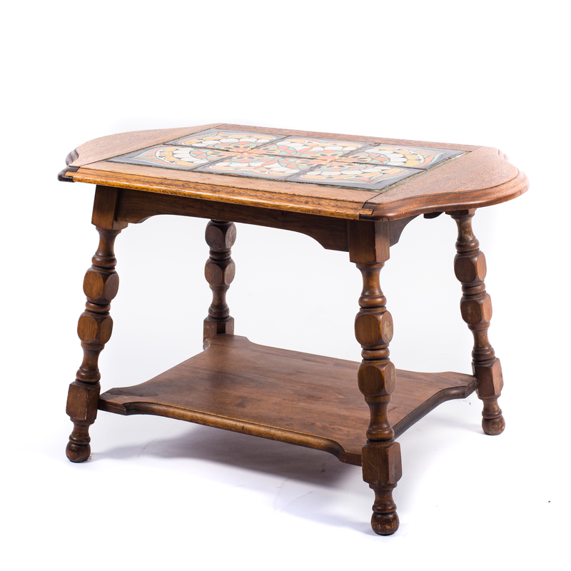 California Arts and Crafts Tile Top Table (#1)