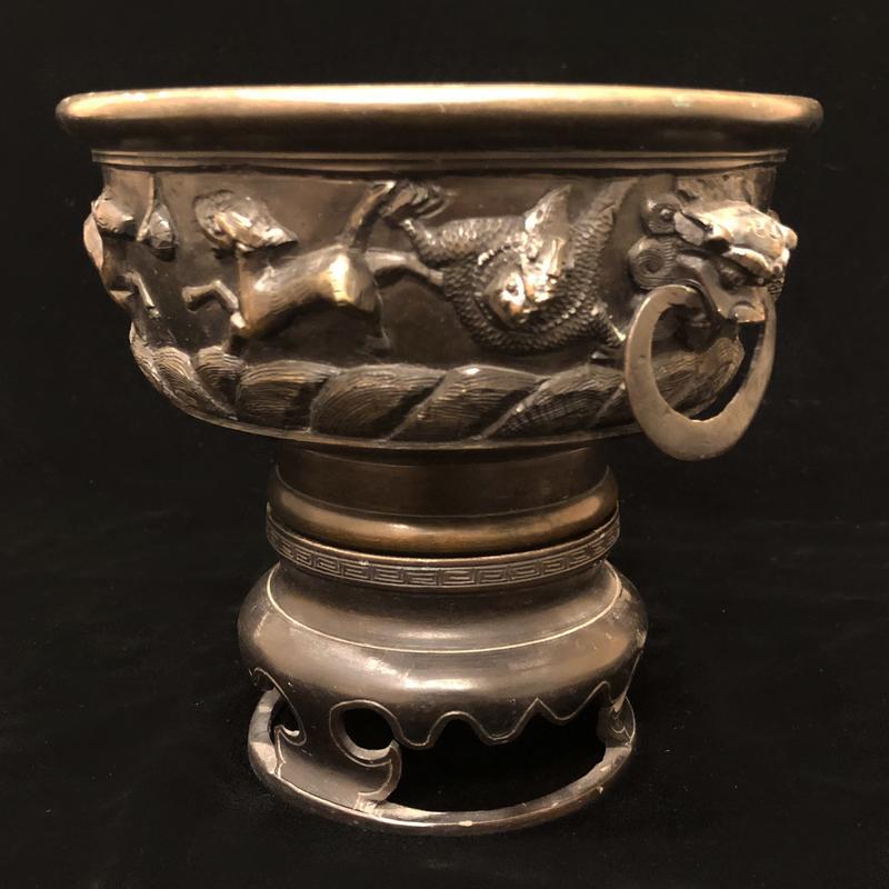 Chinese Bronze Jardinere