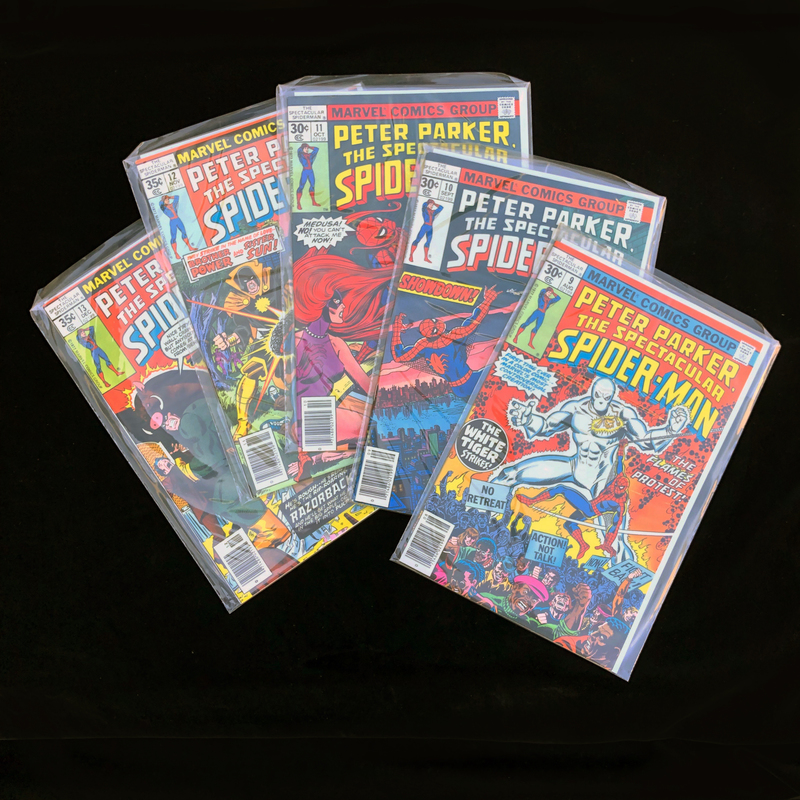 Five Marvel Spider-man Comics