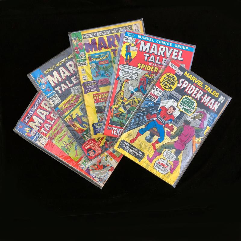 Five Marvel Spider-man Comics