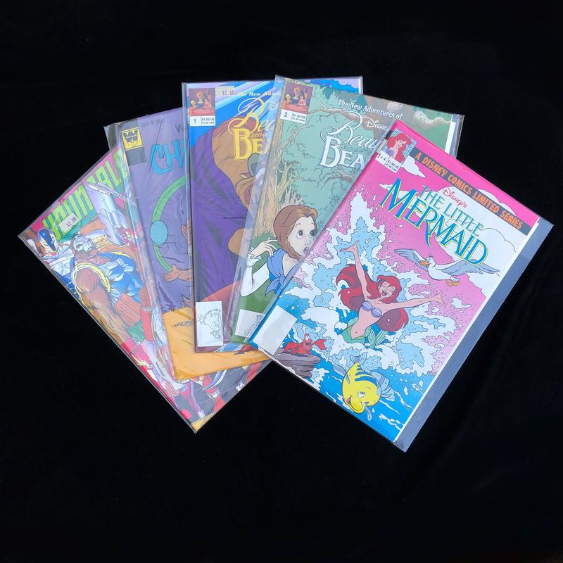 Ten Assorted Comics