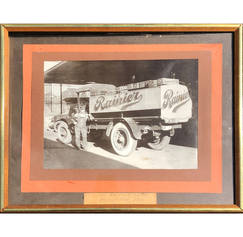 1920 Premier, Rainier Beer Truck Photo