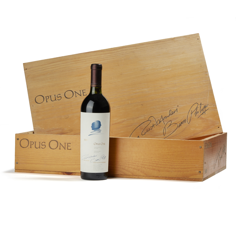 1989 Opus One Wine