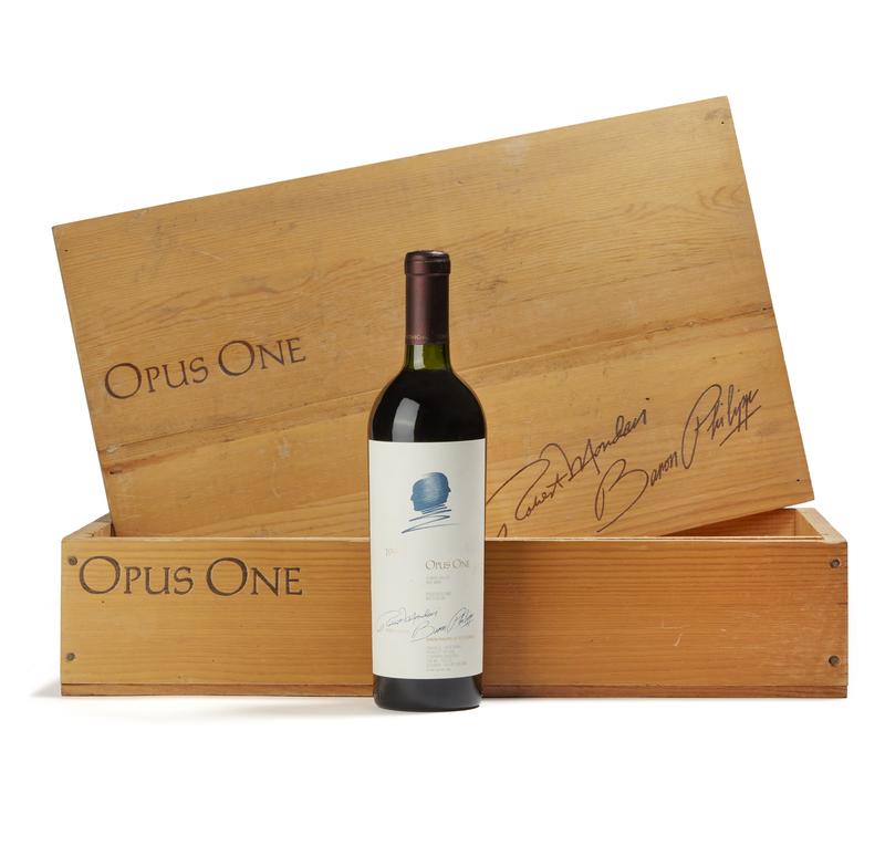 1990 Opus One Wine