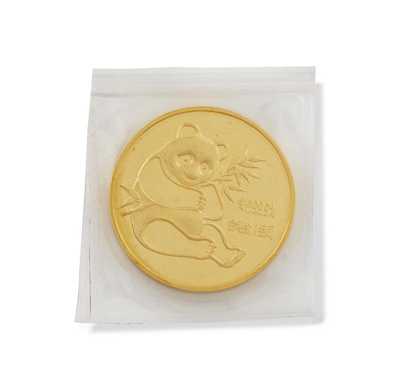 1982 1 oz Gold Panda Bullion Coin