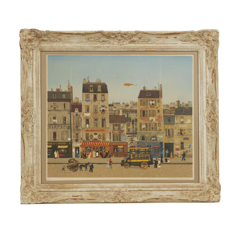 Michel Delacroix Lithograph