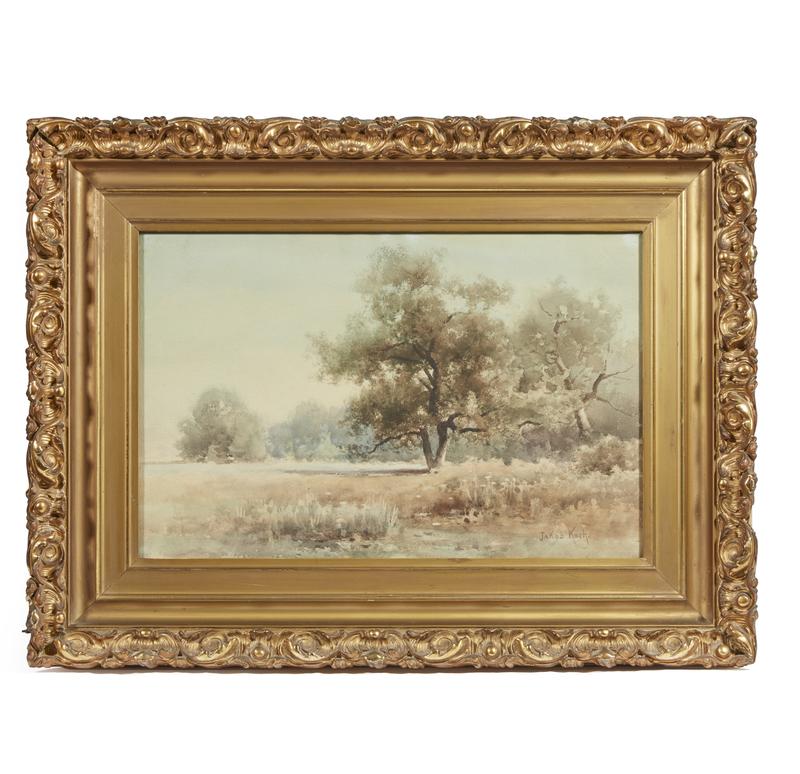 Jacob Koch (1876-1962) Watercolor, Valley Oak