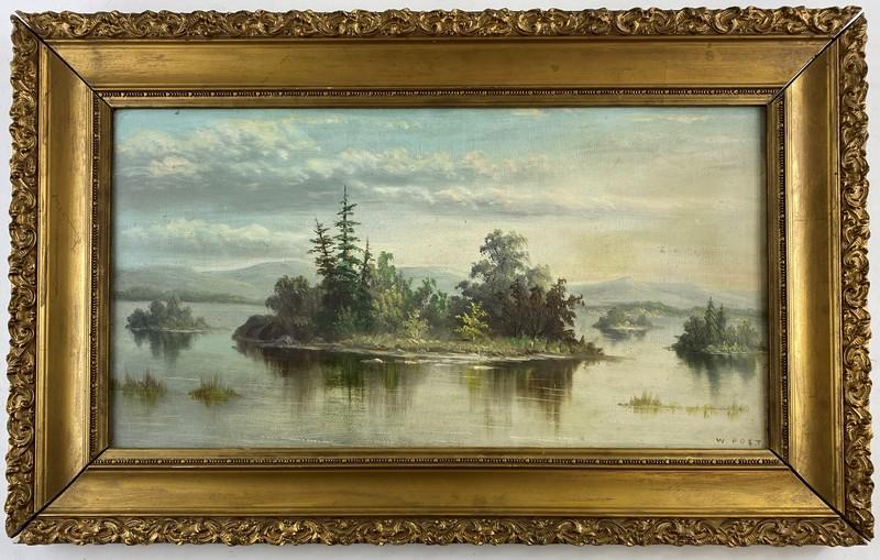 William Merritt Post (American, 1856-1933), Landscape