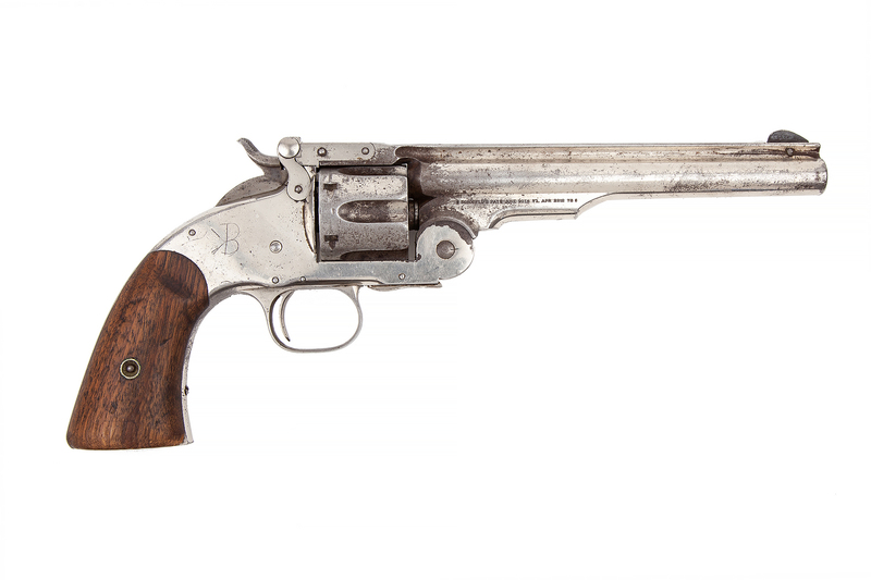 Smith & Wesson 3rd Model Schofield Revolver, US marked
