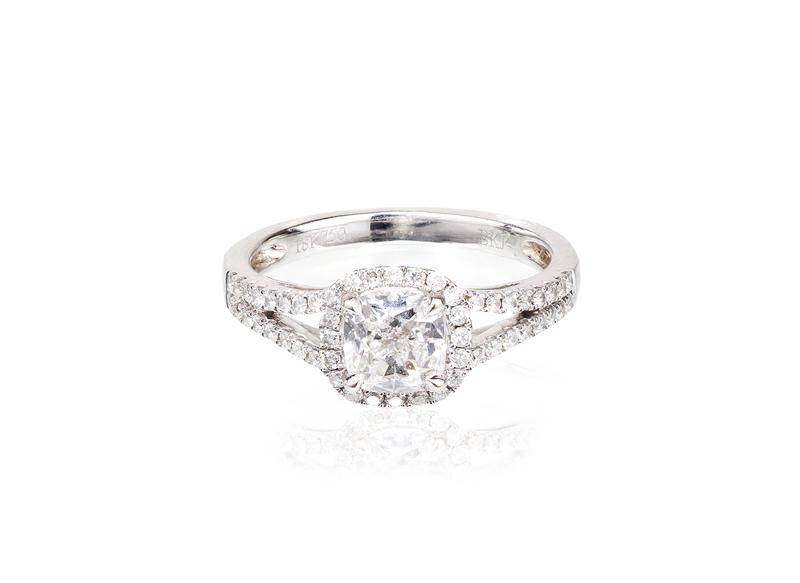 Diamond 18k Ring