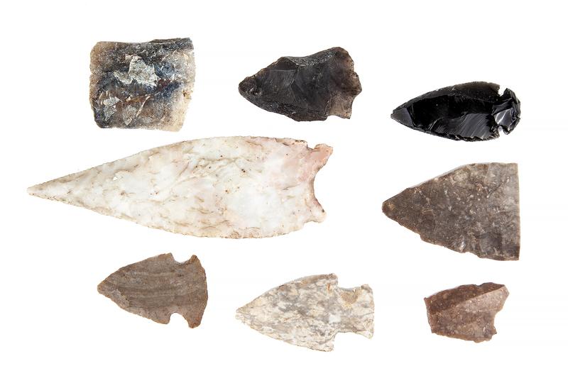 Assorted Arrowheads & Fragments