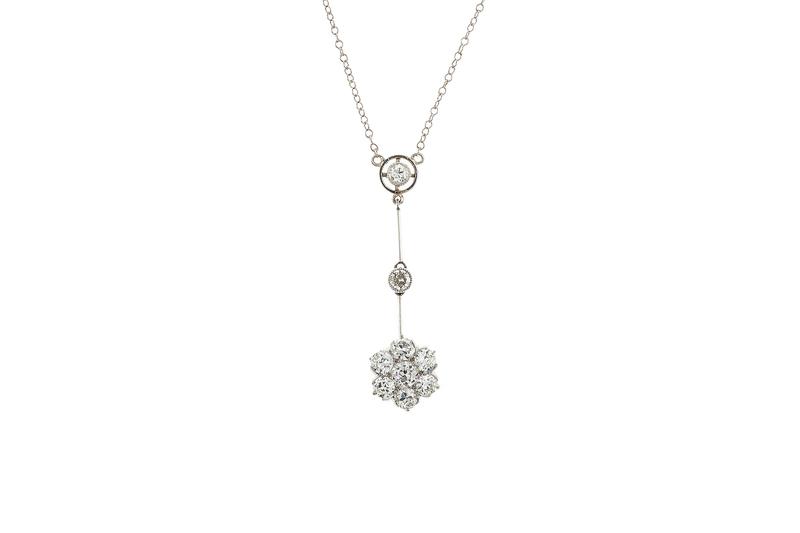Diamond 18k Necklace