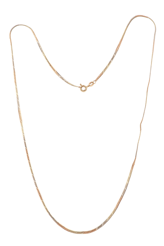 14k Gold Necklace, 4.4 grams