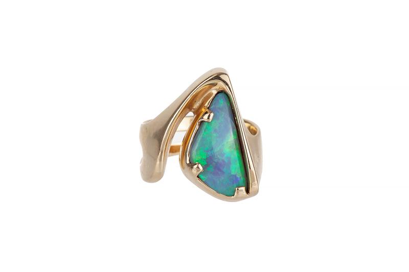 Opal 14k Ring, 9.8 Grams
