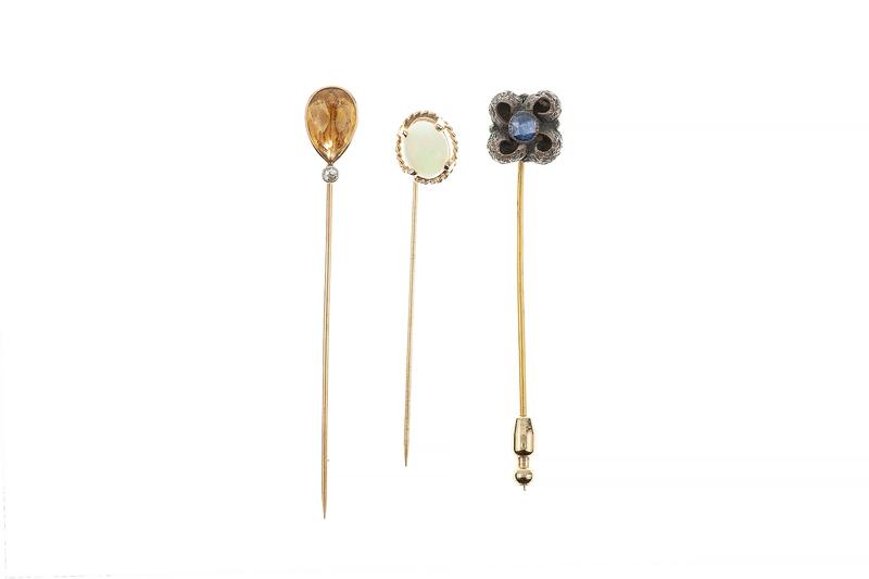 Three Assorted Stick pins