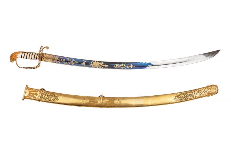 American Eaglehead Officer's Saber Sword