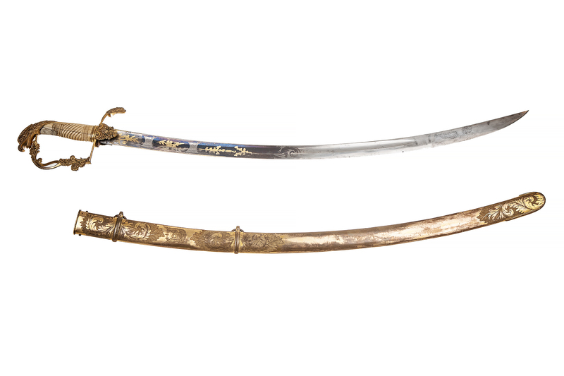 Eaglehead Sword for Mounted Officer