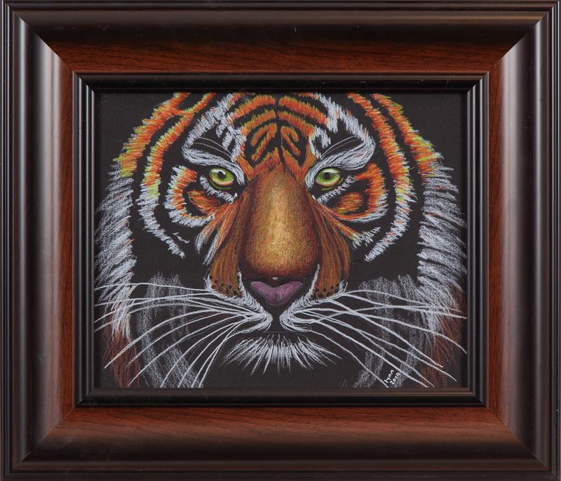 Lynn Morrison Drawing, Tiger