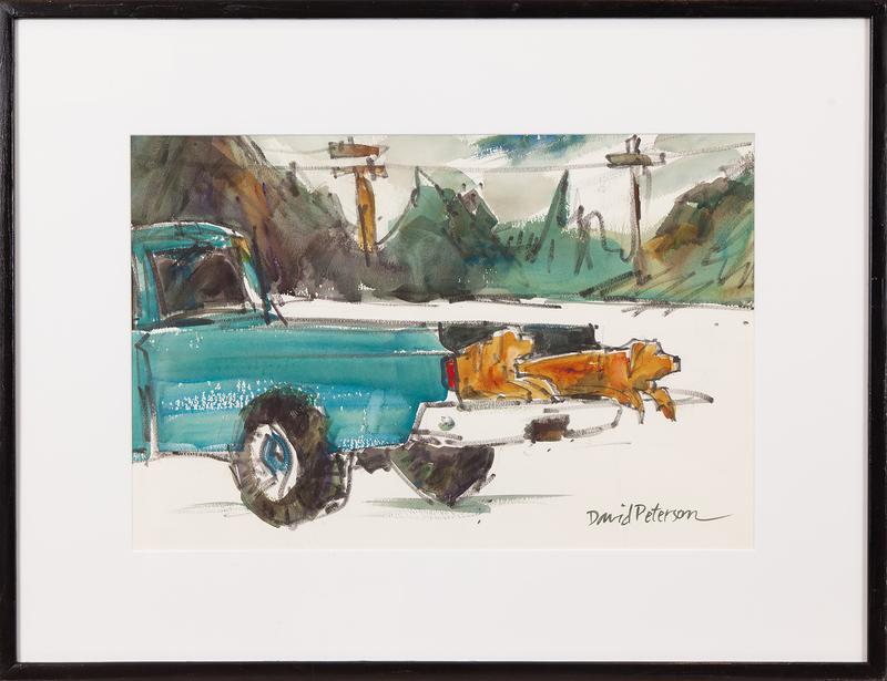David Peterson Watercolor,