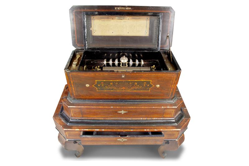 B.A. Bremond Music Box on Stand