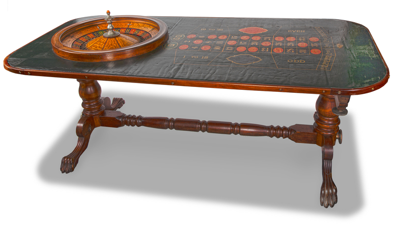 Rocky Mountain Sporting Goods Co. Gaming Roulette Table