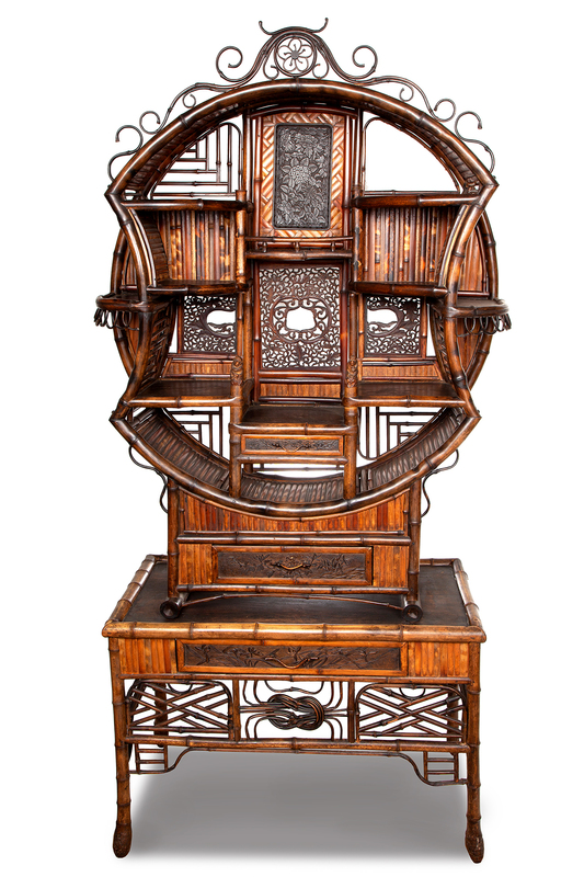 Late 19th Century Japanese Cabinet
