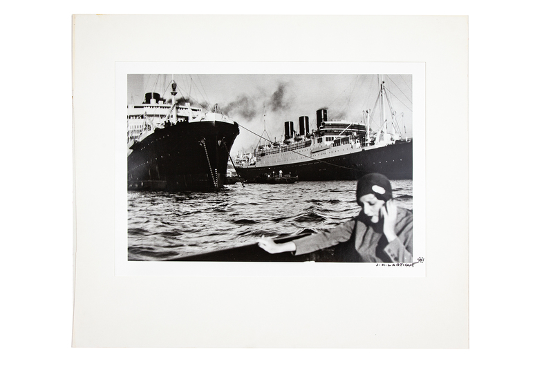 "Jacques Henri Lartigue (1894-1986) Photograph ""Bibi In Marseille"""