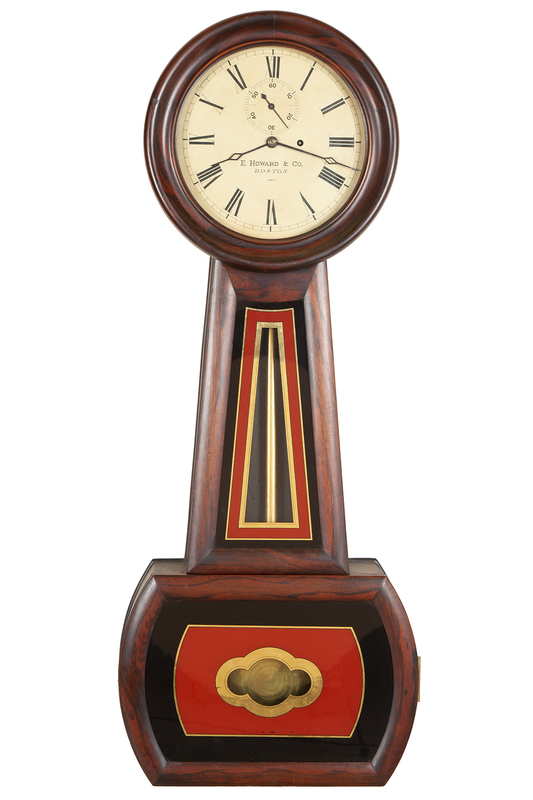 E. Howard Banjo No. 1 Clock