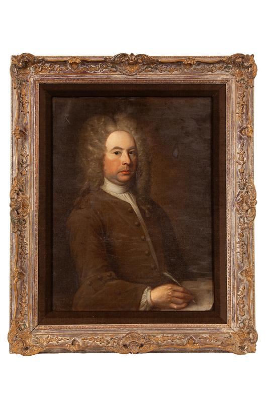 Portrait Painting Dated 1728