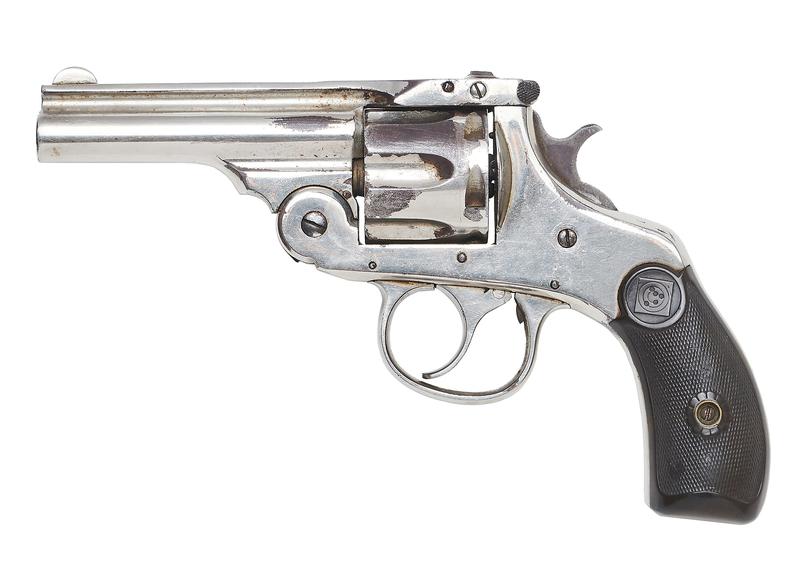 Wyatt Earp's Harrington & Richardson Break Top Revolver