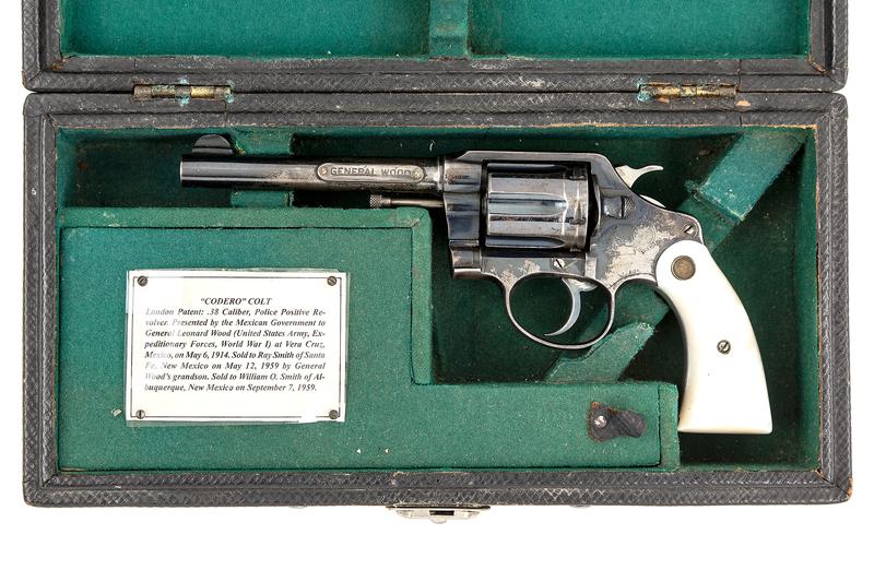 General Leonard Wood's Colt Police Revolver