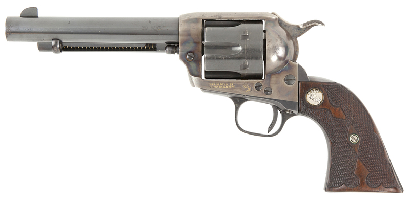 Tom Mix's Colt Single Action Army Revolver
