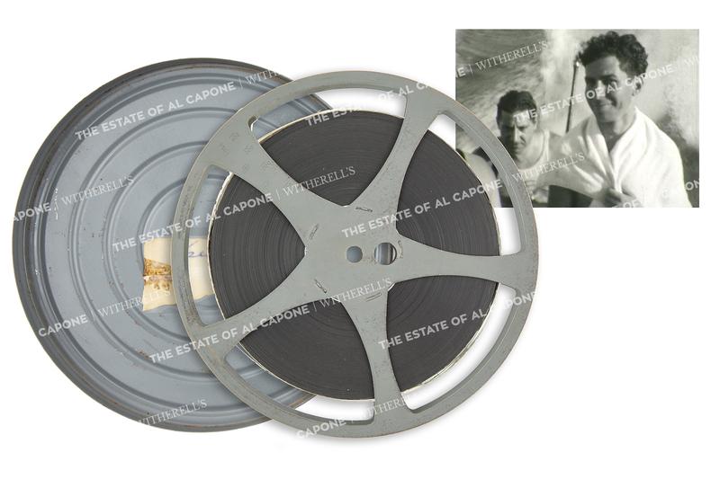 Original Home Movie Reel Featuring Al Capone's Associates