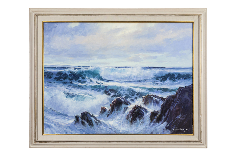 E. John Robinson (1922-2008) Painting