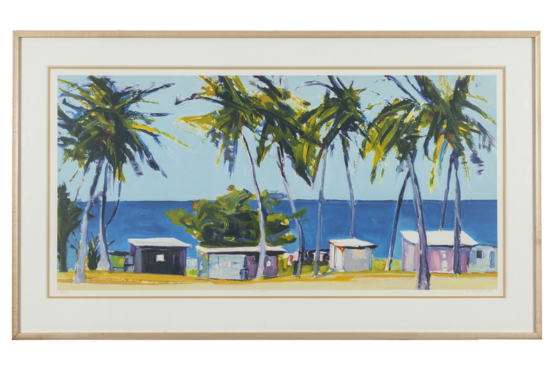 "Gregory Kondos (1923-2021) Lithograph, ""Caribbean"""