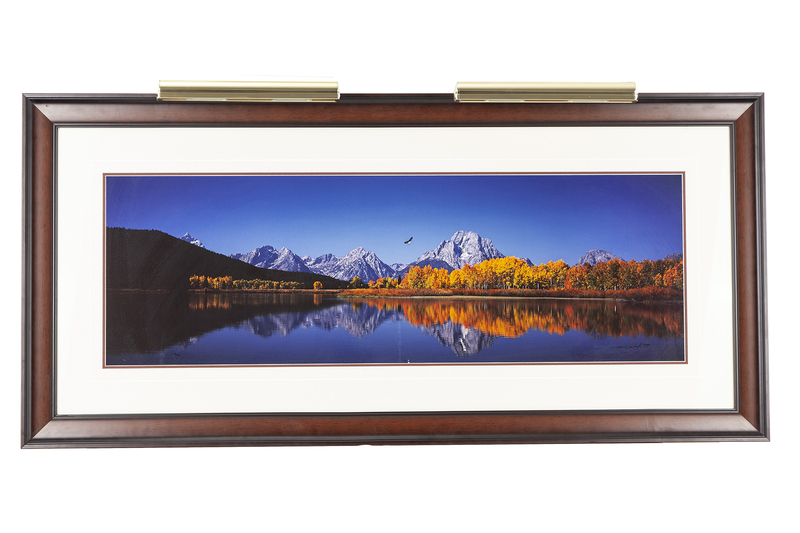 """Thomas D. Mangelsen (b. 1946) Signed Photograph """"High Noon on the Oxbow Bend"""""""