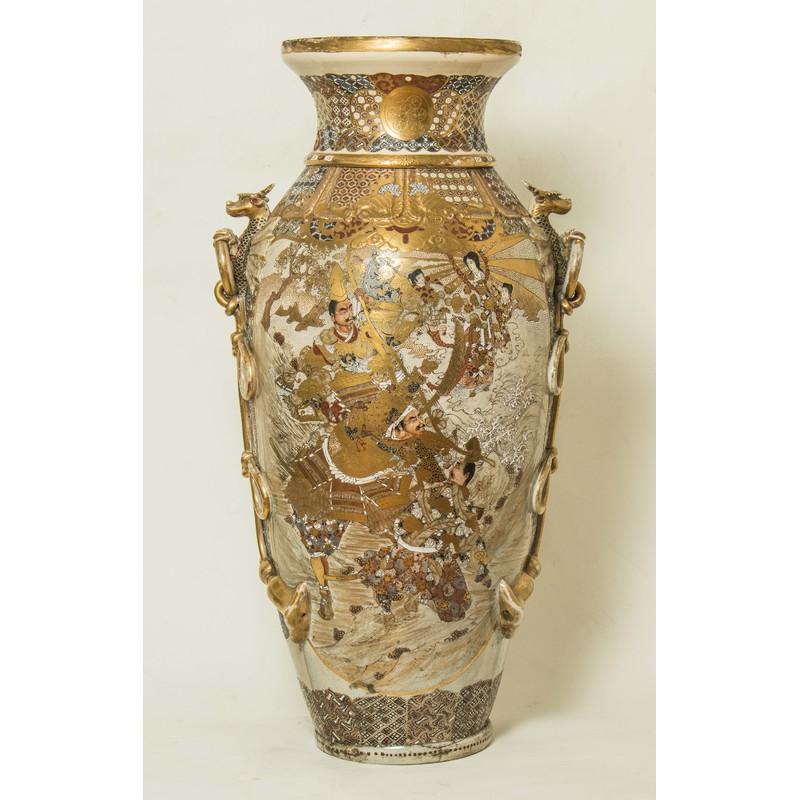 Large Satsuma Vase Witherells Auction House