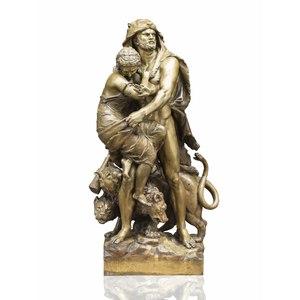 Ernest Rancoulet Bronze Sculpture